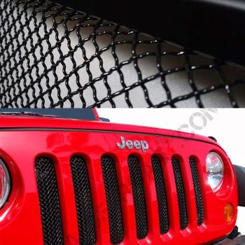 Grille de protection calandre Jeep Wrangler JK