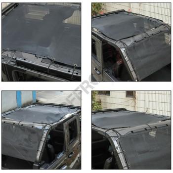 Filet de protection solaire jeep