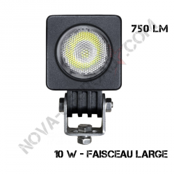 Phare Led 10 Watts carré