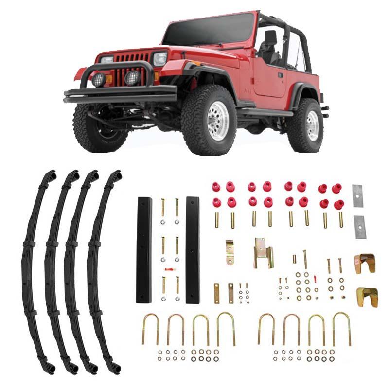 Kit rehausse Jeep Wrangler YJ +6,35 cm