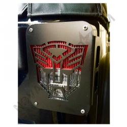 Protection de feu arrière Transformers pour JK