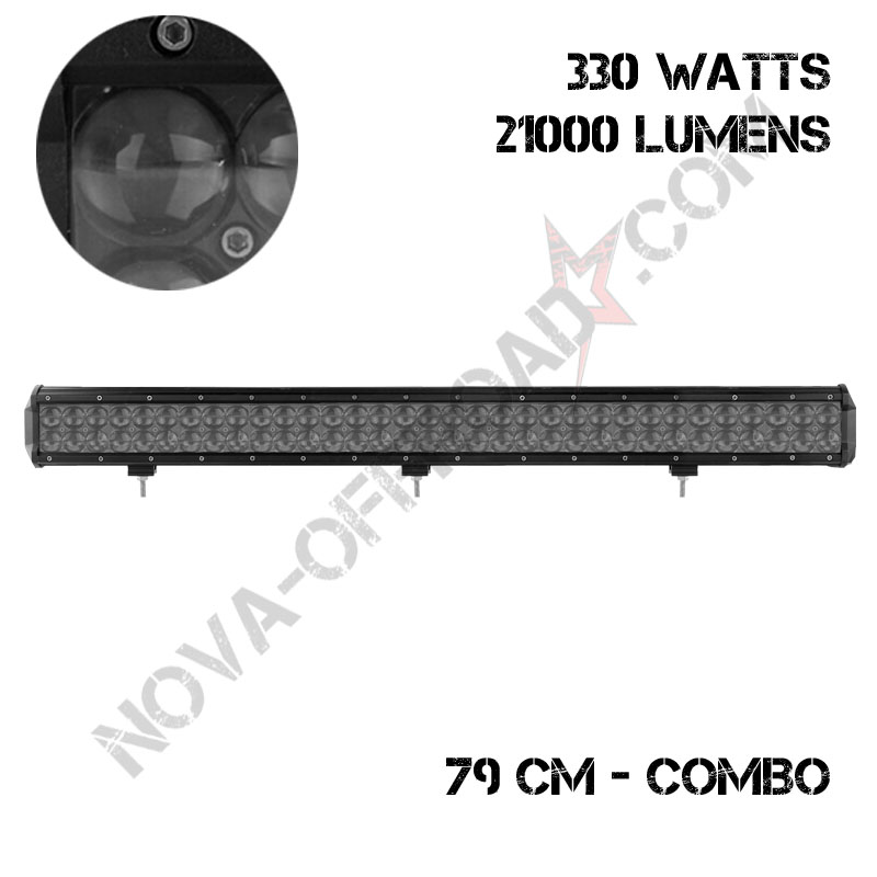 Barre led 330 W combo