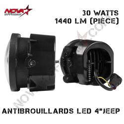 "Antibrouillard LED 4"""