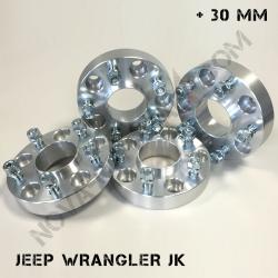 Elargisseurs de voie Jeep JK WJ
