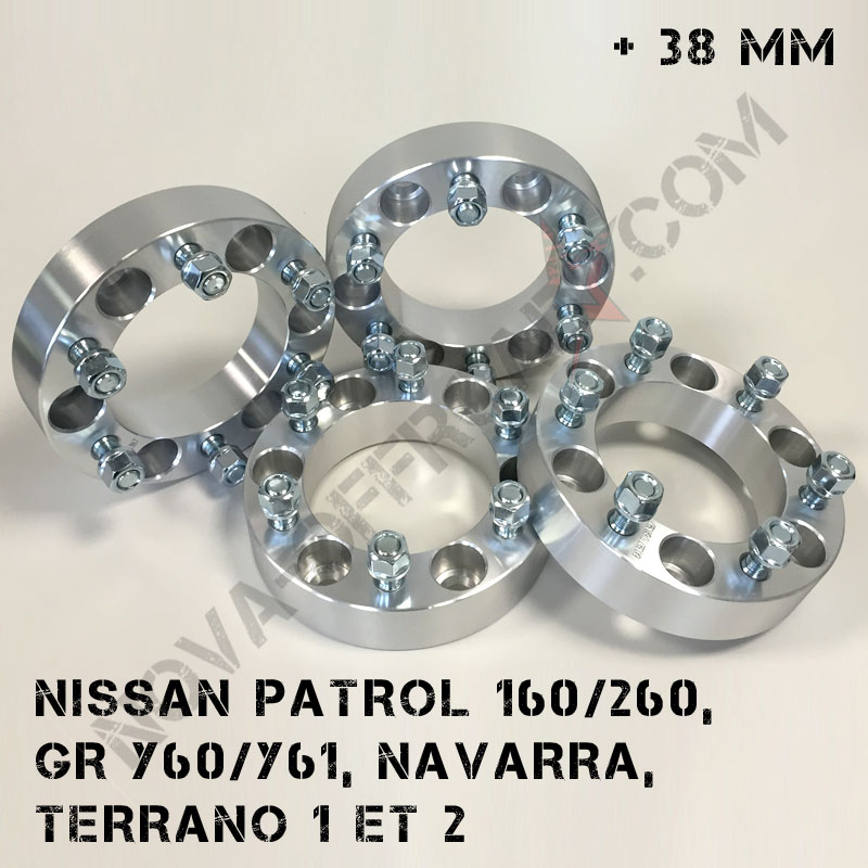 Elargisseurs de voie Nissan