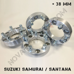 Elargisseurs de voie Suzuki Samurai +30mm