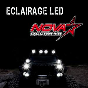 Eclairage led pour 4x4, camions, voitures